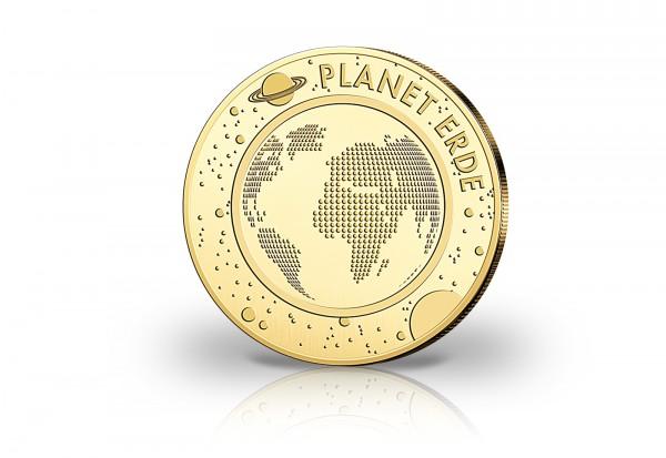 1/10 Unze Goldausgabe Planet Erde 2016
