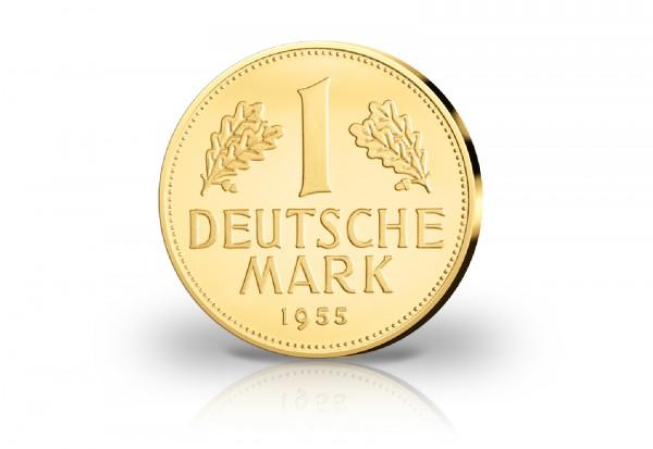 1 Dm 1955 G Neuprägung 2013 Umlaufmünzen Brd Deutschland Vor