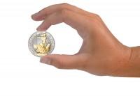 Zusatzbild zu Britannia 1 oz Silber 2019 Großbritannien veredelt mit 24 Karat Goldapplikation