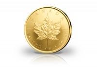 Zusatzbild zu Maple Leaf 1/4 oz Gold 2019 Kanada