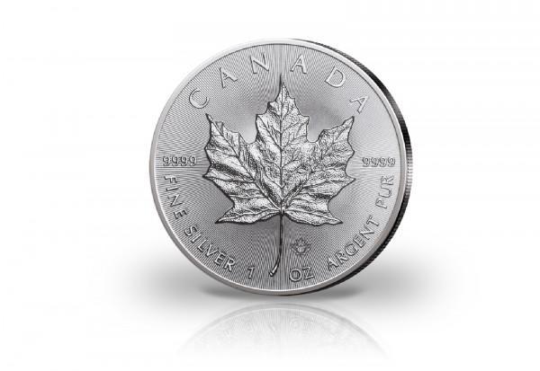 Maple Leaf 1 oz Silber 2018 Kanada