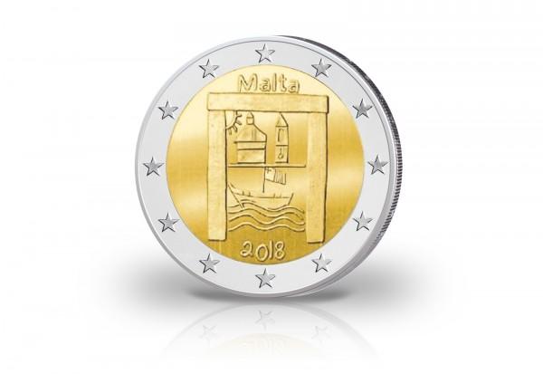 2 Euro 2018 Malta Kulturelles Erbe