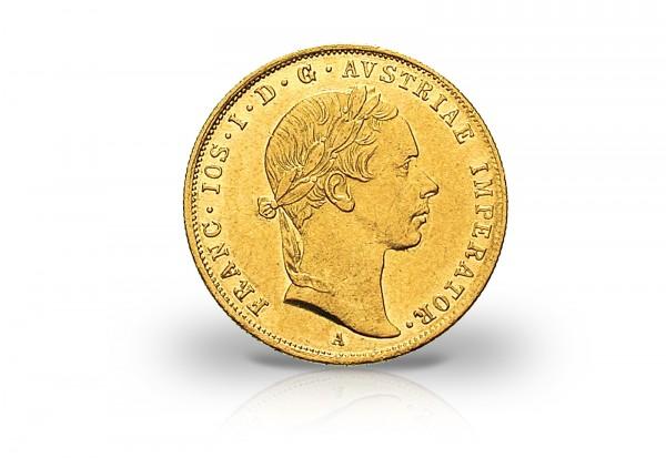österreich 1 Dukat Goldmünze Franz Joseph I 1852 1859 Ssvz Gold