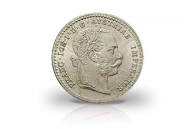 österreich 10 Kreuzer 1868 1872 Kaiserreich Franz Joseph I Silber