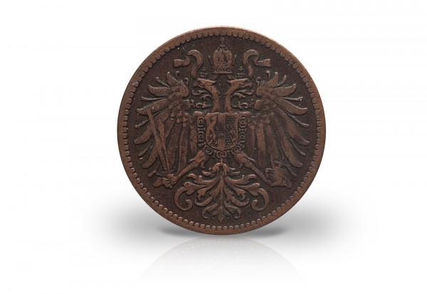österreich 2 Heller 1893 1915 Kaiserreich Franz Joseph I