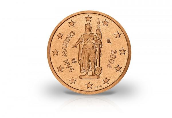 San Marino 2 Cent 2004 San Marino Euro Münzen Münzen Primus