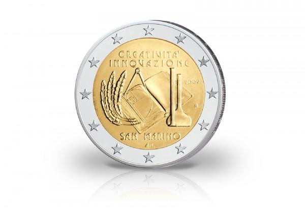 San Marino 2 Euro-Gedenkmünze 2009 st Kreativität