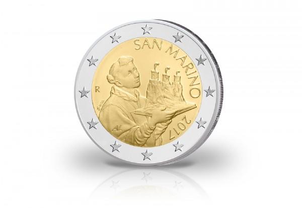 2 Euro 2017 San Marino Kursmünze