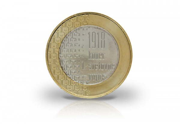 3 Euro 2018 Slowenien 100 Jahre Ende Des Ersten Weltkrieges