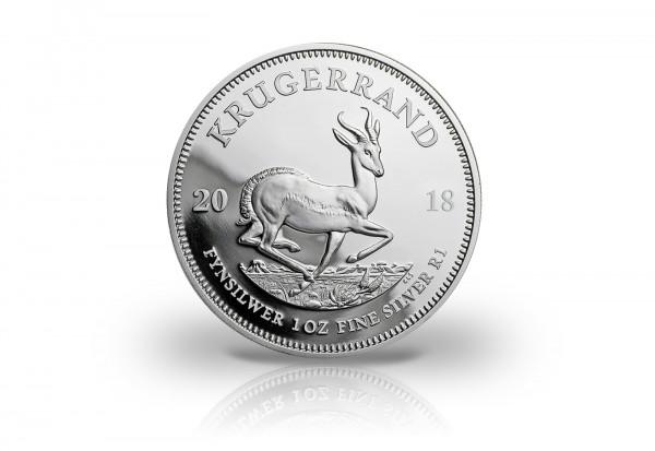 Krügerrand 1 oz Silber 2018 Südafrika