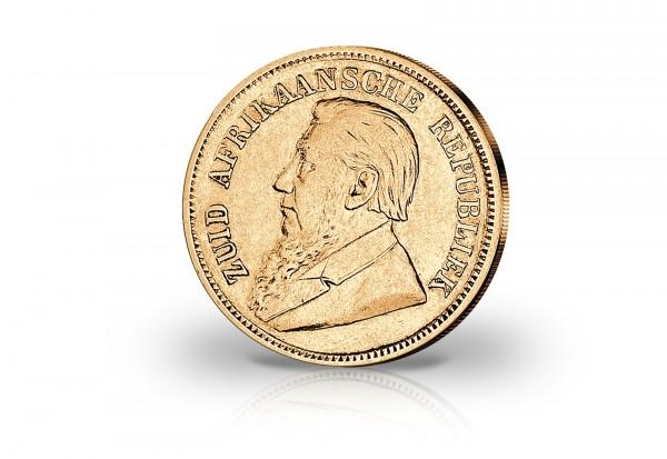 Südafrika 12 Pfund 1892 1898 Ohm Krüger Goldmünze Gold