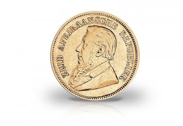 Südafrika 1 Pfund Goldmünze 1892 1898 Ohm Krüger
