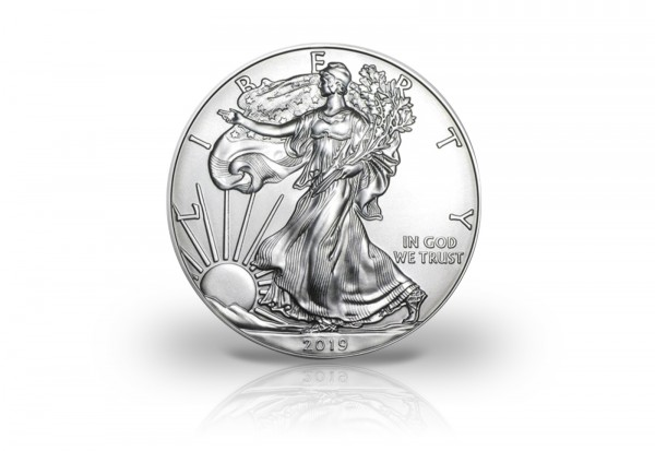 American Eagle 1 oz Silber 2019 USA