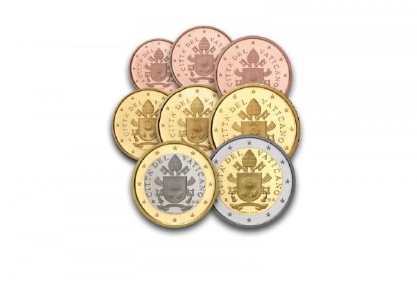 Vatikan Eurosatz 2018 Vatikan Euro Münzen Münzen Primus