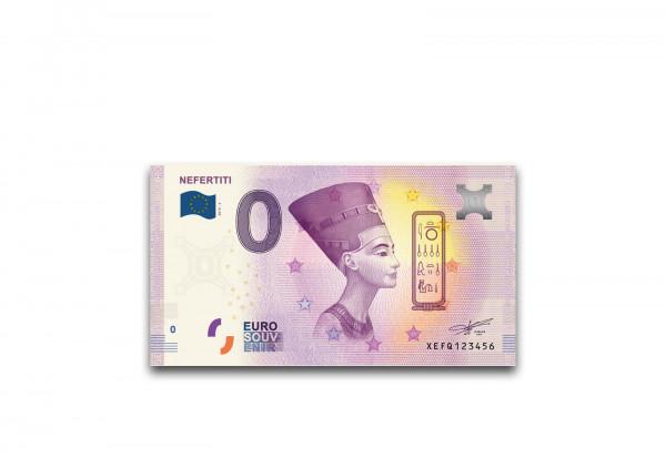 0 Euro Banknote Nofretete