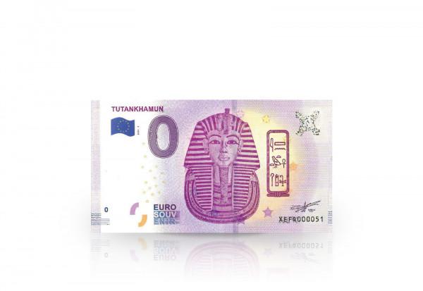 0 Euro Banknote Ägypten Tutanchanum