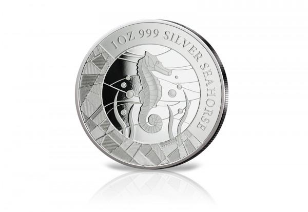 Seepferdchen 1 oz Silber 2018 Samoa