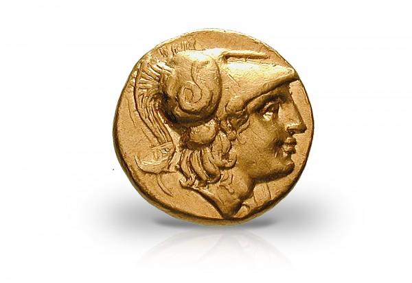 Makedonien Stater 300 V Chr Alexander Der Große Gold Ss Antike