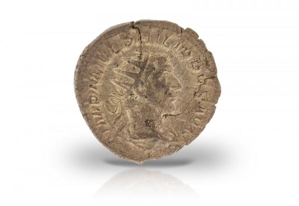 Romische Kaiserzeit Antoninian Silbermünze 244 249 Philippus Der