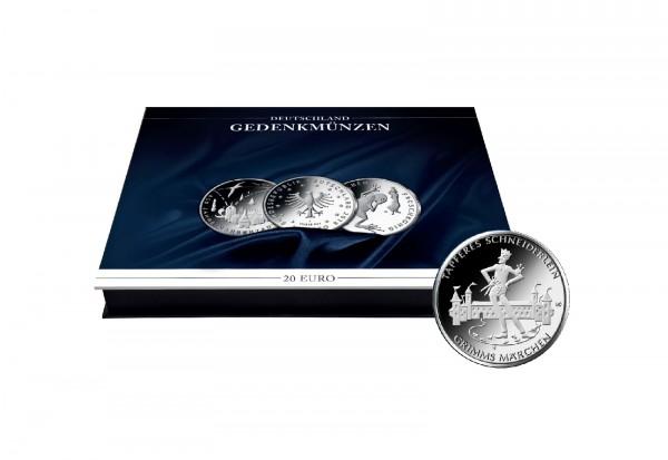 Münzkassette für 30x 20 Euro Gedenkmünzen Deutschland