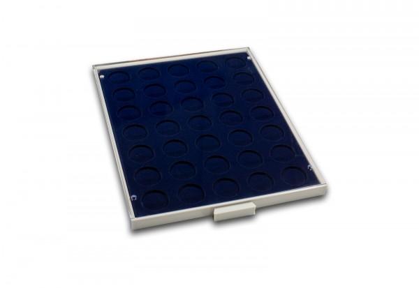 Münzbox für Münzen 35 Fächer je Fach bis Durchmesser 32,5 mm