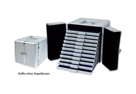 Stapelbox für 54 2 Euro-Münzen