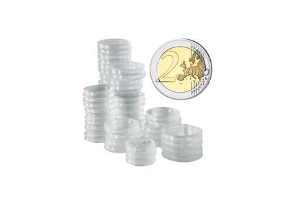 200 Kapseln Für 2 Euro Münzen Münzkapseln Münzen Zubehör