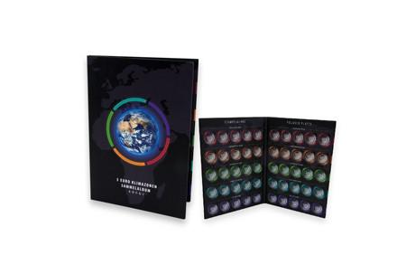 Album für 5x BRD 5 Euro Tropische Zone Münzen für Sammlung 2017-2021