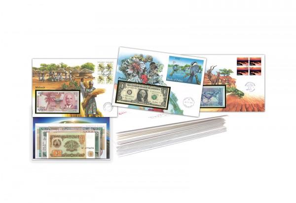 Banknotenbriefe aus Aller Welt