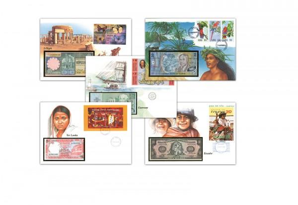 Banknoten Brief unserer Wahl