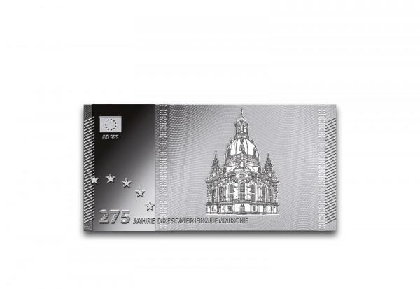 Silber Banknote Dresdner Frauenkirche