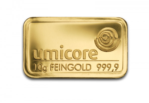 Goldbarren 10 Gramm Motiv unserer Wahl