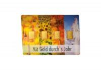 Zusatzbild zu Goldbarren 4x 1 g Mit Gold durchs Jahr im Blister