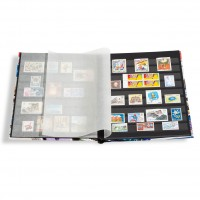 Zusatzbild zu Einsteckbuch STAMP DIN A4, 32schwarze Seiten, unwattierterEinband