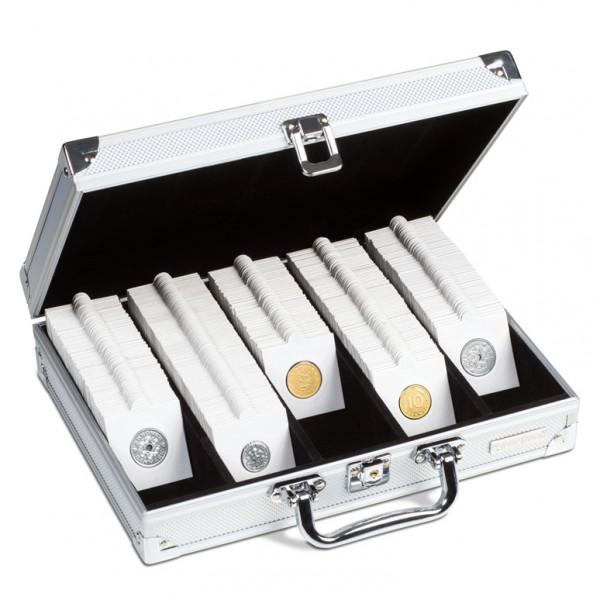 Koffer Für 650 Münzrähmchen 5 Reihig Münzkoffer Tableaus