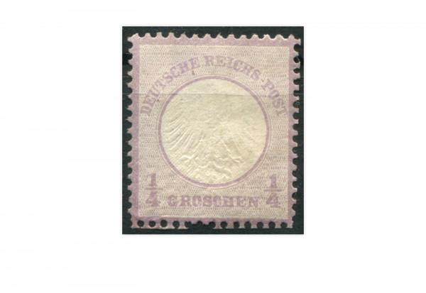 Deutsches Reich 1/4 Groschen 1872 Mi.Nr. 1 *