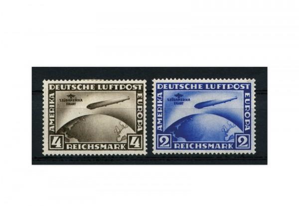 Deutsches Reich Flugpostmarken 1930 Mi.Nr. 438/439 postfrisch geprüft