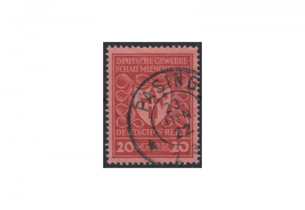 Deutsches Reich Michel-Nr. 204 b gestempelt geprüft