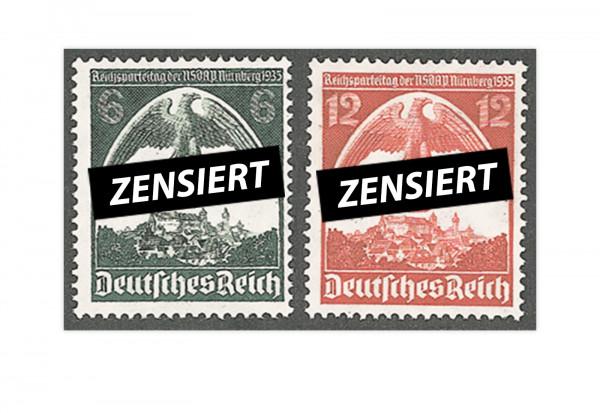 Deutsches Reich Michel Nr. 586/587 postfrisch