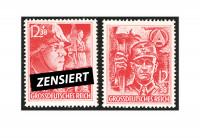 Zusatzbild zu Briefmarken Deutsches Reich Michel-Nr. 909/910 postfrisch