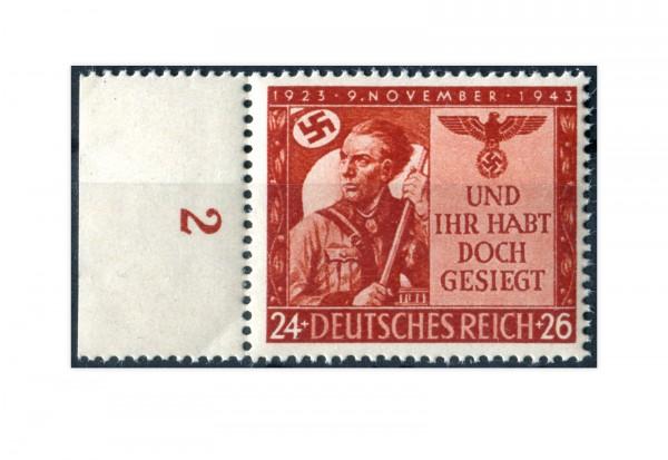 Deutsches Reich Mi.Nr. 863 Marsch zur Feldhernnhalle postfrisch