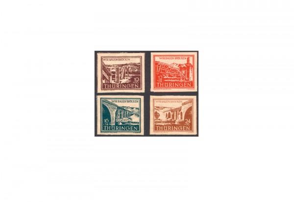 SBZ Mi.Nr. 112/115 postfrisch