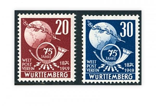 Französische Zone Württemberg Mi.Nr. 51/52 gestempelt