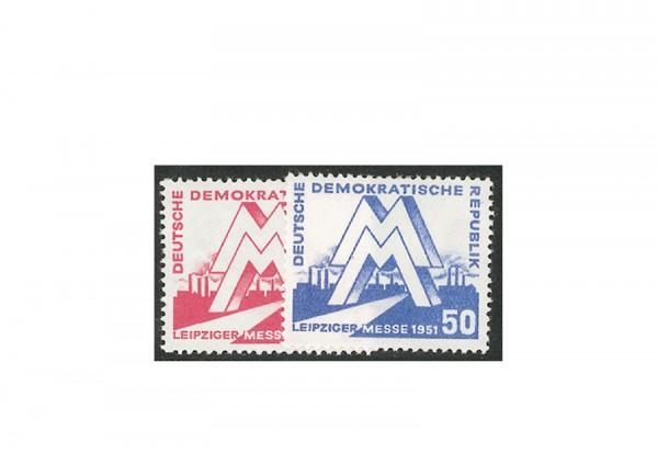 DDR 282 / 283 postfrisch Leipziger Frühjahresmesse 1951