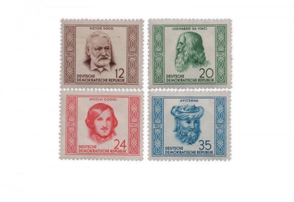 DDR Michel Nr. 311-314 ** Persönlichkeiten