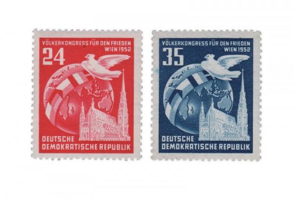 DDR Michel Nr. 320/1 ** Völkerkongress für den Frieden
