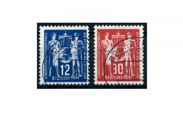 Frühausgabe DDR Mi.Nr. 243/244 gestempelt