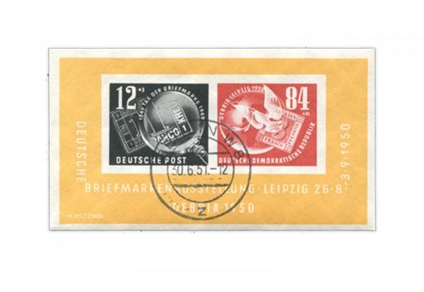 Ddr Debria Block 1950 Gestempelt Frühausgaben Ddr Briefmarken
