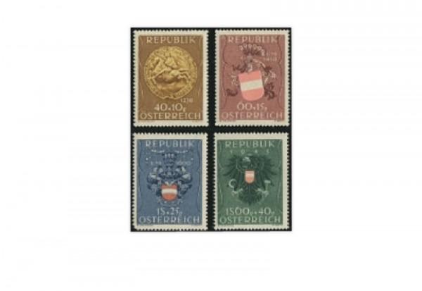 Österreich Frühausgaben Mi.Nr. 937/940 postfrisch