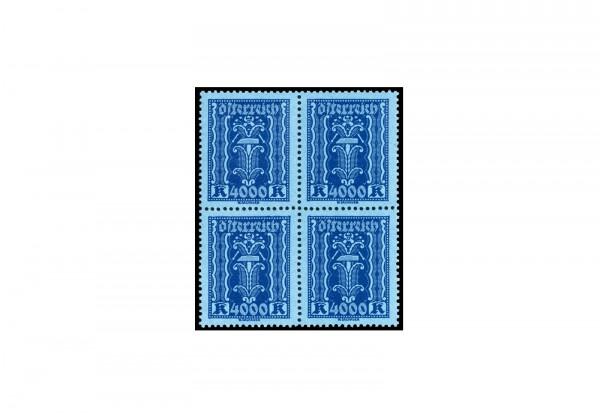 Briefmarke Österreich Viererblock Michel-Nr. 397 postfrisch